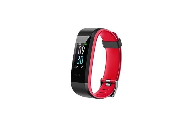 CAOQAO- Reloj Mujer Hombre Unisex Moda Inteligente TFT-LCD ...