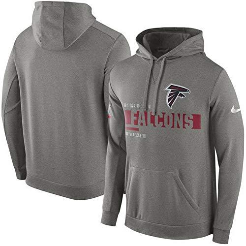 (Atlanta Falcons Nike Super Bowl LI Travel Circuit Perform Pullover Hoodie Sz)