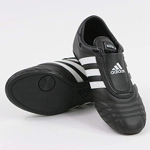 adidas Sm II Training Martial Arts Leather Shoes (Black, 13)