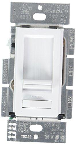 LUTRON ELECTRONICS LECL-153PH-WH WHT Lumea 150W White Dimmer Switch ()