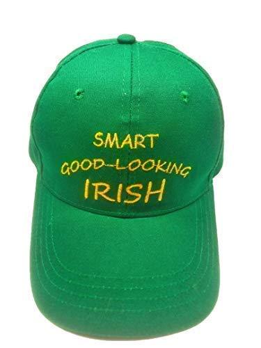 fb34c23b1cbce St Patricks Day Baseball Cap in Irish Shamrock Green.