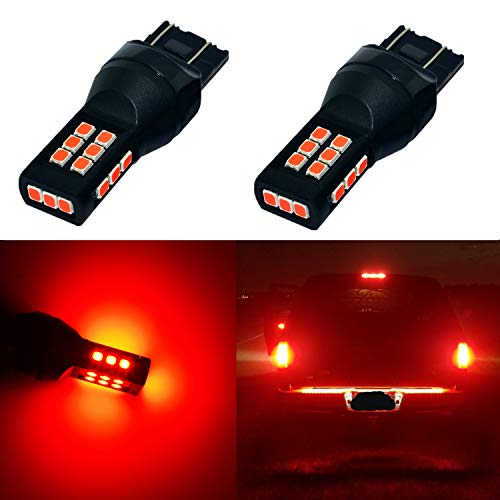 Alla Lighting Xtreme Super Bright T20 7440 7443 LED Bulbs High Power 3035 21-SMD LED 7443 Bulbs 7441 7444 W21W LED Turn Signal Brake Stop Tail - Fz8 Signal Turn Yamaha