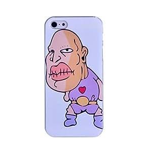 MOFY-Estuche r'gido lureme divertido patr—n de personajes de dibujos animados para el iphone 5/5s
