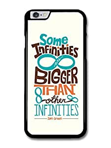 "AMAF ? Accessories The Fault in Our Stars John Green Quote Some Infinities Illustration case for iPhone 6 Plus (5.5"") by supermalls"