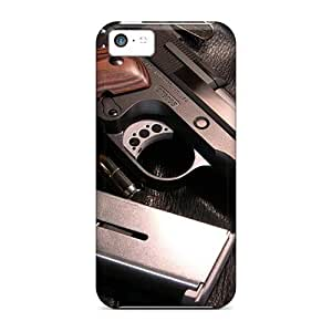 Awesome Case Cover/iphone 5c Defender Case Cover(m1911 Pistol)