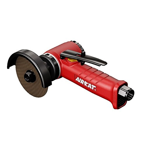 Image of AIRCAT 6525-A Inline Cut-Off Tool w/ Adjustable Guard, Small, 3-Inch, Red & Black Home Improvements
