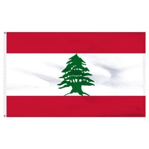 Moon Knives 3x5 Lebanon Lebanese Flag 3x5 House Banner Gromm