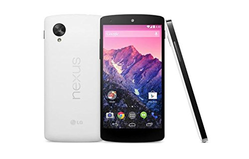 LG Google Nexus 5 D820 16GB Unlocked GSM 4G LTE Quad-Core Smartphone, White w/8MP Camera (Certified Refurbished)