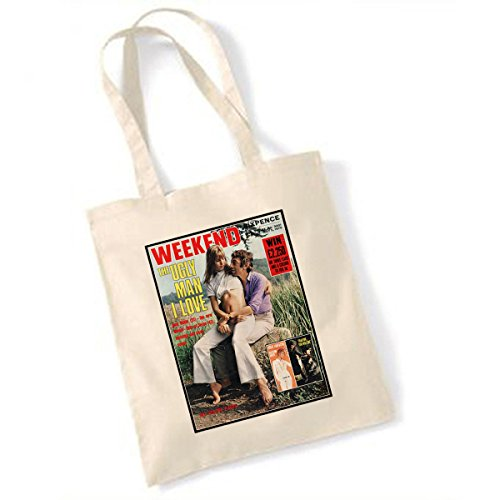 VMC Serge Gainsbourg e Jane Birkin Weekend Magazine tote