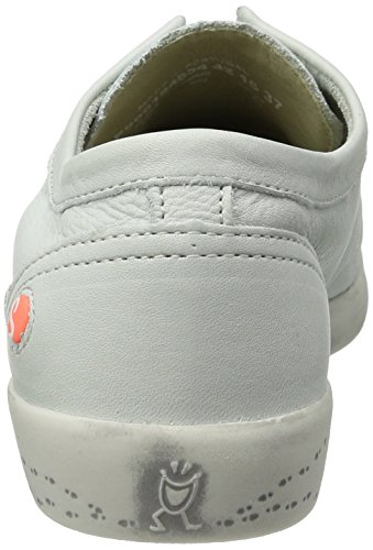 Softinos Damen Isla Sneakers Weiß (wit)