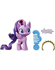 My Little Pony Twilight Sparkle Potion Pony Figure -- 3-Inch Purple Pony Toy with Brushable Hair, Comb, and 4 Surprise Accessories