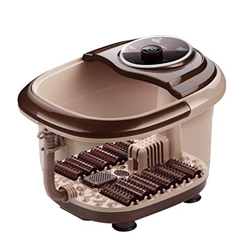 Portable Foot Spa Bath Massager Foot tub Foot tub for Soaking feet Vibration 500W Adjustable Temperature Control Roscloud@ (Color : Computer Style) by Foot massage