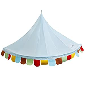 Bed Canopy, OUTAD Foldable Princess Rainbow Play Tent , Cute Style For Baby  Kids Reading