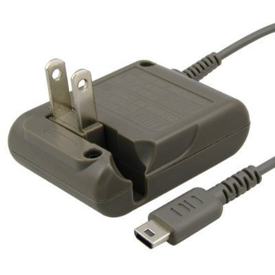 Nintendo Genuine OEM DS Lite Foldable Flip AC Adapter (Lite Ds Charger Nintendo Ac)