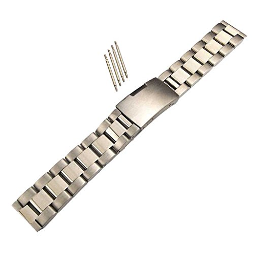 MagiDeal Silver Solid Quick Release Bracelet Replacement Sta