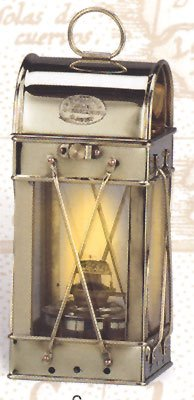 10″ Brass Viking Nautical Oil Lantern