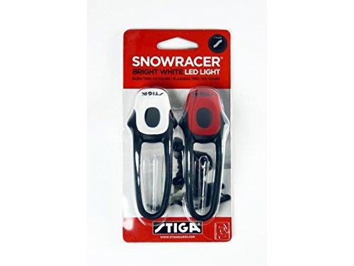 Stiga Snowracer Licht - Stiga Rennschlitten LED Licht - Schlitten mit Licht