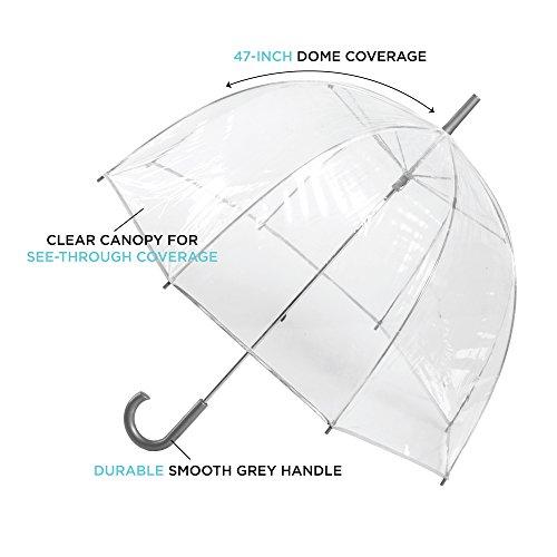 اسعار totes Women's Clear Bubble Umbrella
