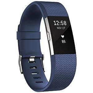 41p4z4iuGoL. SS300 Fitbit Charge 2 Braccialetto Monitoraggio Battito Cardiaco e attività Fisica