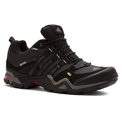 Adidas Terrex Fast X Shoe - Men's Carbon / Black / Light Scarlet 6