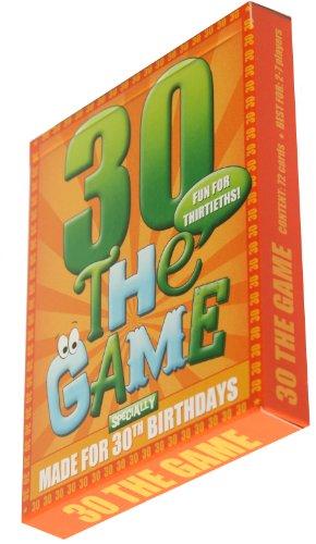 30th Birthday Card Game