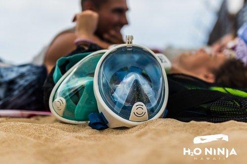 Amazon.com: H2O Ninja 180 ° View Full Face máscara Snorkel ...