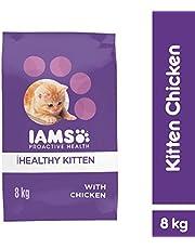 Iams CIKC8 Proactive Health Chicken Kitten Food 8 kg 1 Pack Medium