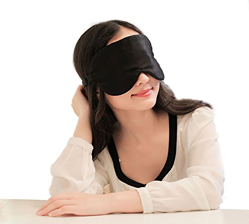 65cab738beb1d Urmelody Natural Silk Sleep Mask Funny Eye Mask for Sleeping Sexy Blindfold  Eye Cover for Women