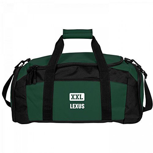 Lexus Gets A Gym Bag: Port & Company Gym Duffel Bag by FUNNYSHIRTS.ORG