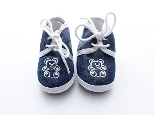 Babyschuhe für Jungs bis 3 Monate Jungen Bär von VIVA Baby