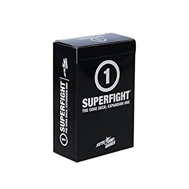 SUPERFIGHT: The Core Expansion One Card Deck