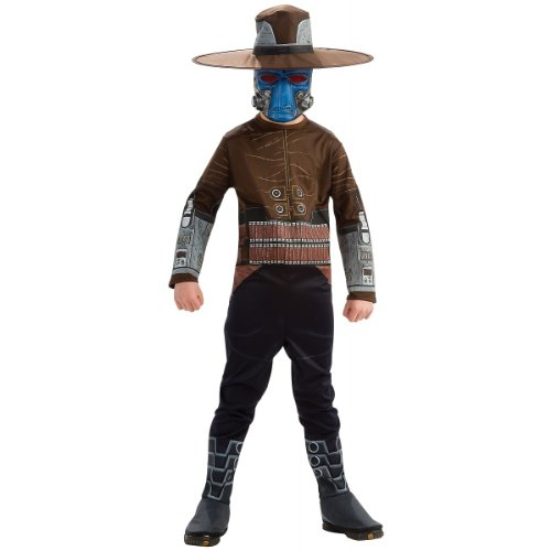 Rubie's Star Wars Clone Wars Child's Cad Bane Costume and Mask, -
