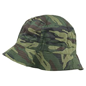 Bucket Hats Washed Cotton (Camouflage + Solid Color Styles- L/XL Sizes)
