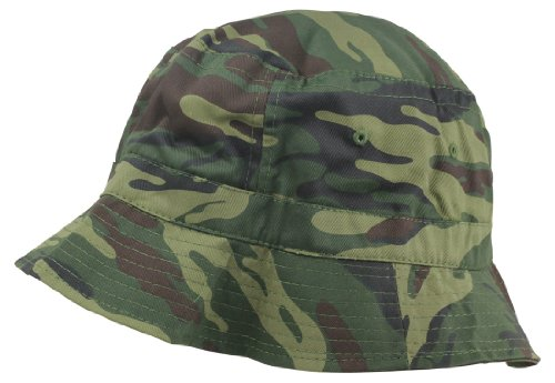 Bucket Washed Cotton Camouflage Styles