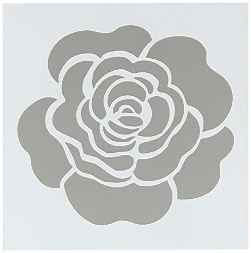 FolkArt Painting Stencil, 30604 Single Rose ()