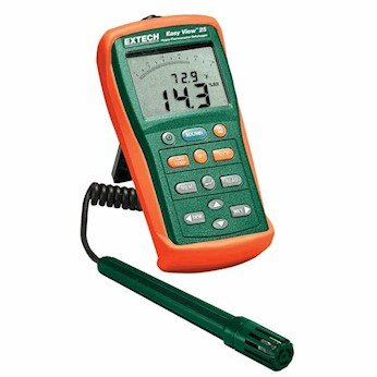 Extech EA25 Easyview Thermohygrometer with Datalogger