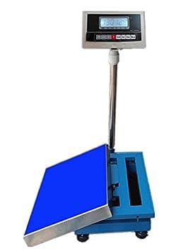CGOLDENWALL Báscula Digital de Plataforma Industrial, 150 kg/200kg/300 kg, resistente
