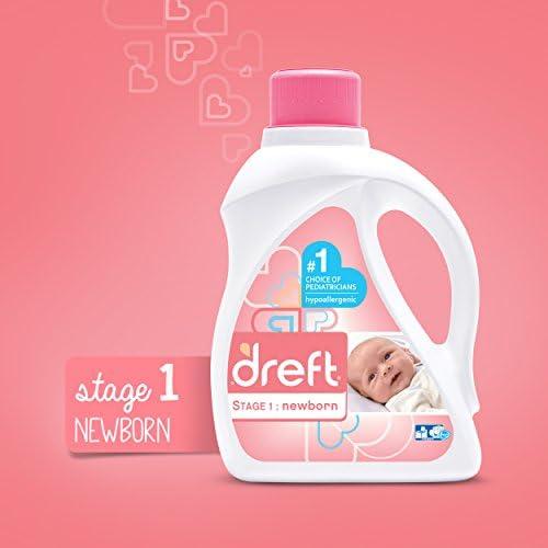 41p54qao%2B L. AC - Dreft Stage 1: Newborn Liquid Laundry Detergent (HE),Natural For Baby, Newborn, Or Infant, 50 Oz, 32 Loads