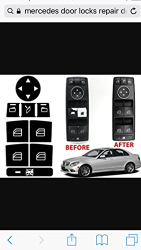 Mercedes Benz Door Lock Repair Kit For Most C-Class E-Class GLK-Class W-Class and Other Fine Automobiles