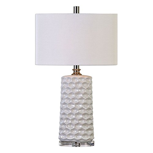 Uttermost 27142-1 Sesia Honeycomb Table Lamp, ()