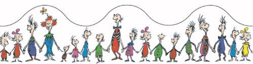 Eureka Dr. Seuss Whoville Whos Deco Trim