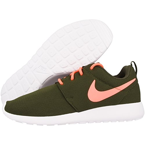 Nike Roshe One Women Schuhe legion green-lava glow-white - 42