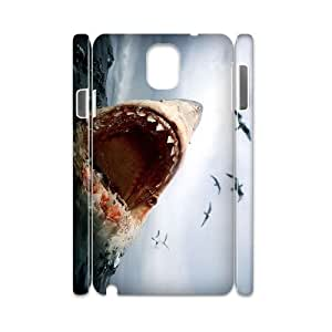 S-ADFG Diy case Deep Sea Shark customized Hard Plastic case For samsung galaxy note 3 N9000