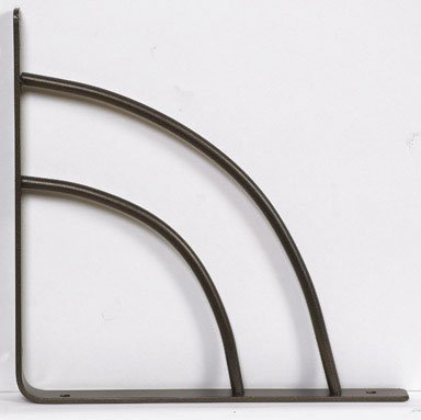 - 10 each: John Sterling Milano Shelf Bracket (RP-0087-8BRZ)