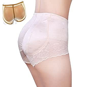 ShangMu Women's Padded Seamless Panty Silicone Butt Pads For Women by S(Tay With M), 1cm Ve Silicone