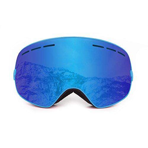 Ocean Sunglasses - Cervino - Masque - Monture : Bleu - Verres : Revo Bleu (YH-3104.1)