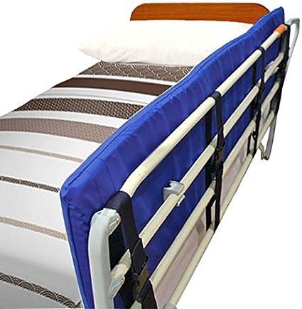 OrtoPrime Protector de Barandilla para Cama Adulto y Niño - Barrera de Seguridad Ortopédica - Protección para Camas - Quitamiedos Cama - Barrera Protectora Cama con Cierres de Seguridad