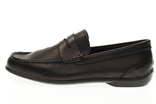 IGI&CO Man Mokassin Schuhe 77026/00 BROWN Black