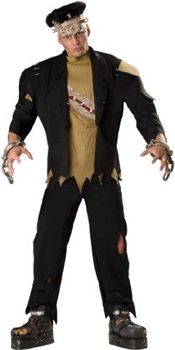 [InCharacter Costumes Men's Monster Costume, Black, Medium] (Frankenstein Costume Men)