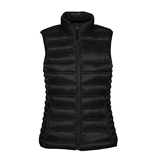 (Stormtech Womens/Ladies Basecamp Thermal Quilted Gilet (S) (Black))